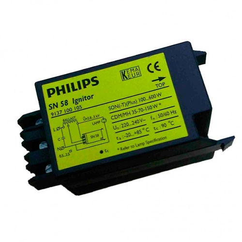 IGNITOR SN 58 SON (T/PLUS) 100 A 600W PHILIPS