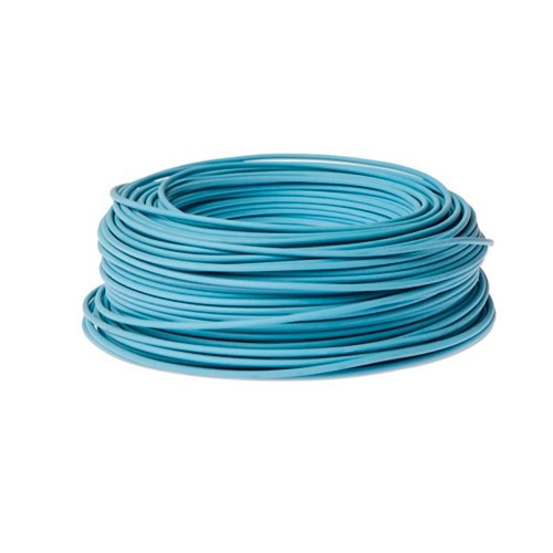CABLE ELECTRICO LH 2.5 MM AZUL X 100 M INDECO