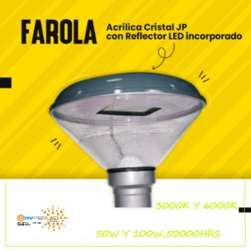 FAROLAN JP LED 50W Y 100W PARA EXTERIORES