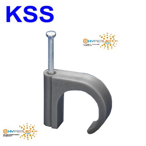 GRAPAS KSS  GRIS NC-2N H=11.5 X 8.6 MM